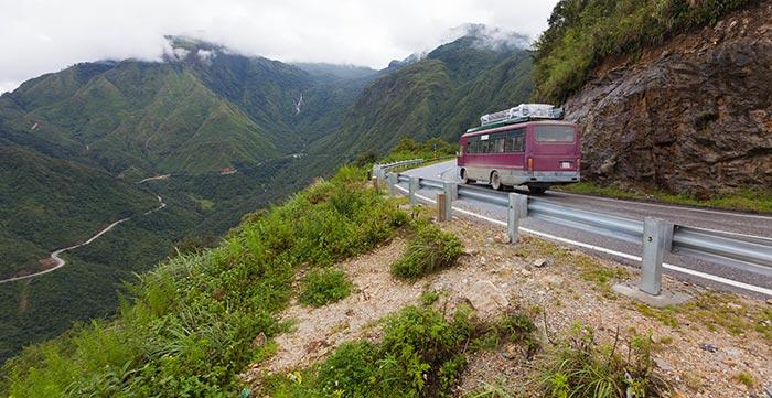 Da Dalat a Hoi An in Autobus