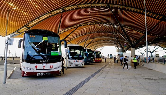 Da Hong Kong a Macau in Autobus