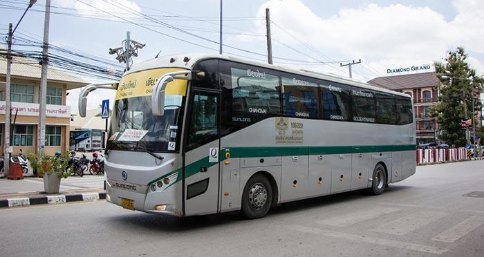 Da Pai a Chiang Rai in Autobus