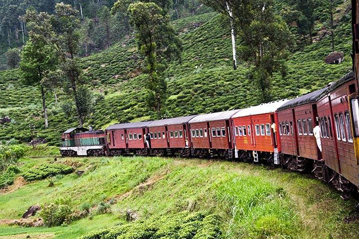 Da Colombo a Trincomalee in Treno
