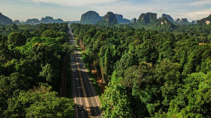 Opzioni di viaggio per andare da Krabi a Surat Thani
