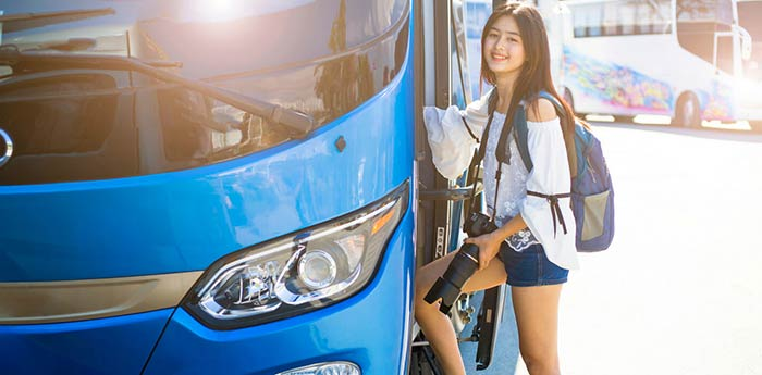 Da Manila a Tacloban in Autobus