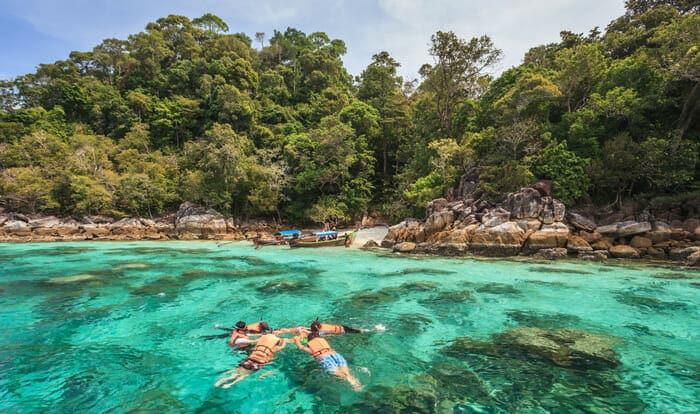 Opzioni di viaggio per andare da Krabi a Koh Lipe