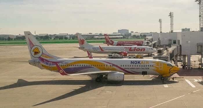 Voli da Bangkok aUdon Thani