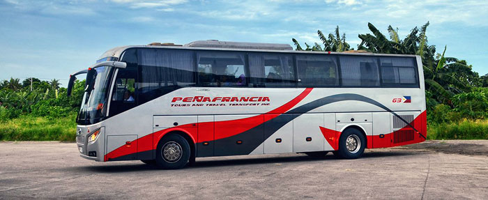 Da Manila a Naga in Autobus