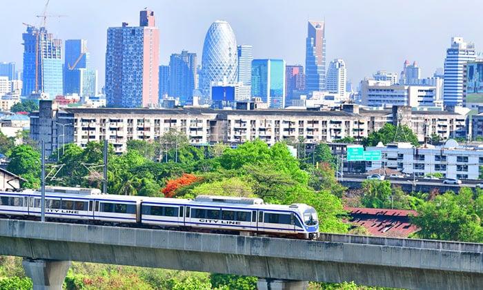 L'Airport Rail Link dall'Aeroporto Suvarnabhumi a Bangkok
