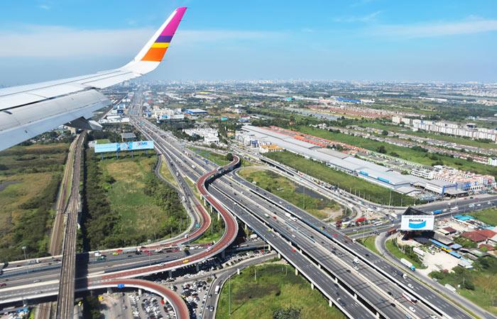 Opzioni di viaggio per andare dall'Aeroporto Suvarnabhumi a Bangkok