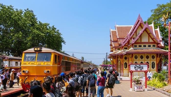 Da Hua Hin a Koh Samui in Treno e Traghetto