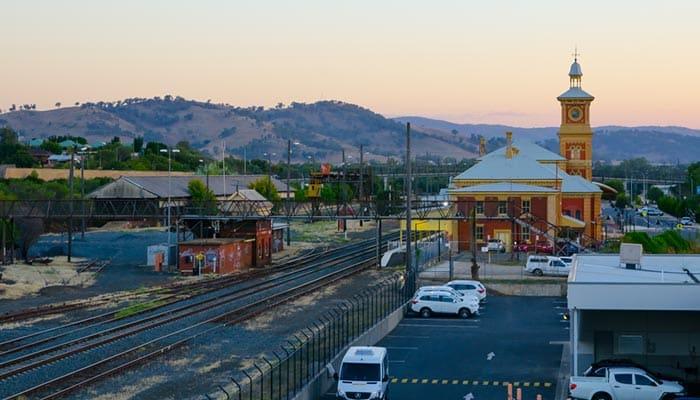 Da Albury a Canberra in Treno