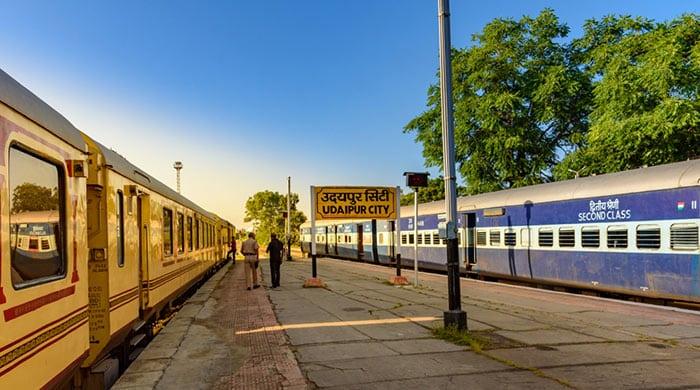 Da Jaipur a Udaipur in Treno