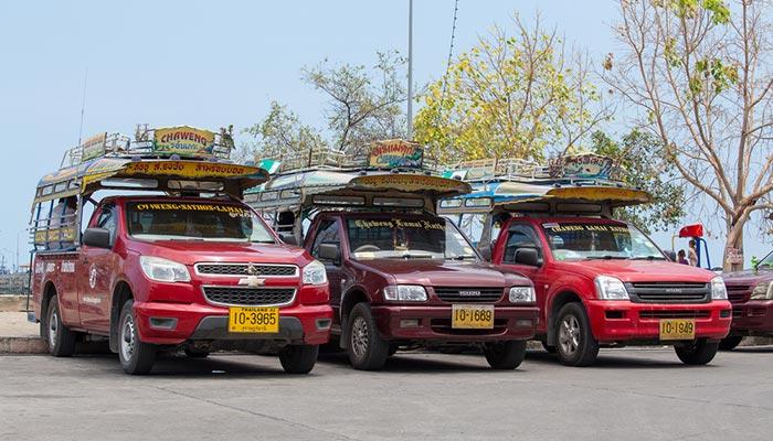 Il Trasporto Pubblico a Surat Thani