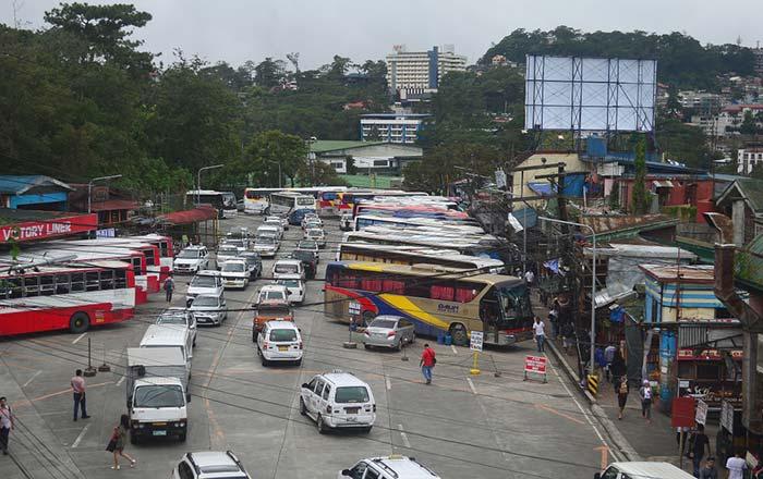 Autobus da Manila a Baguio