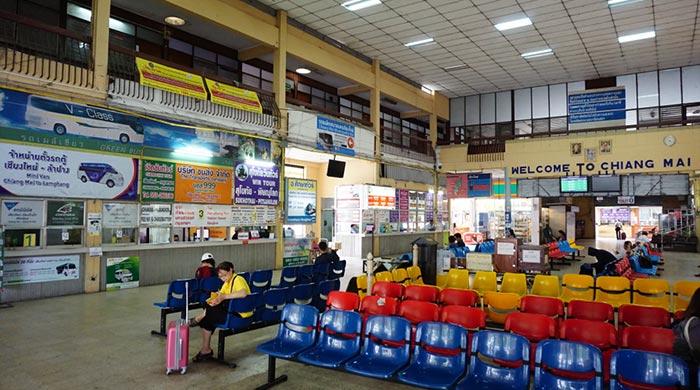 Da Chiang Mai a Sukhothai in Autobus