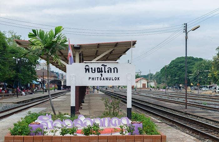 Da Chiang Mai a Sukhothai in Treno