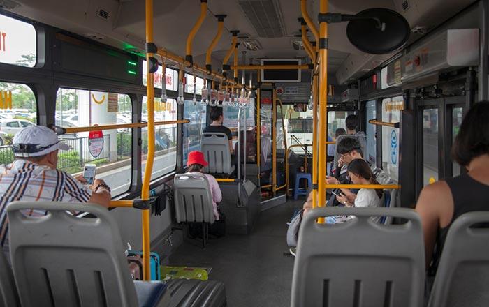 Dall'Aeroporto di Hanoi alla Città con l'Autobus Pubblico