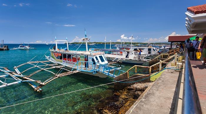 Da Kalibo a Boracay con il pacchetto Pulmino, Traghetto e Taxi
