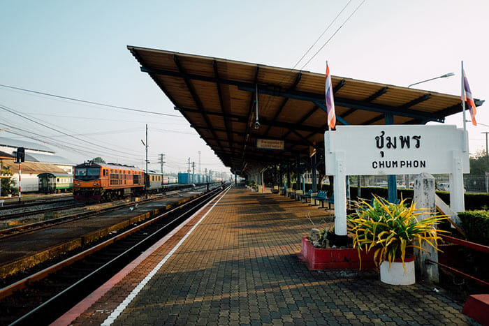 Da Koh Tao a Bangkok in Treno