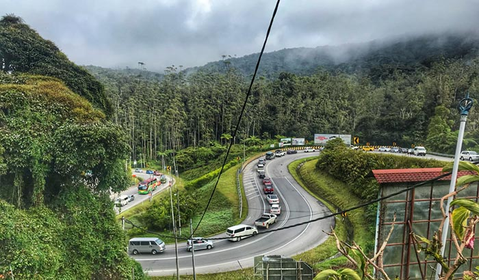 Opzioni di viaggio per andare da Singapore alle Cameron Highlands