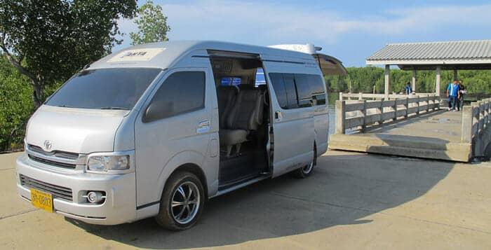 Da Phuket ad Ao Nang in Taxi