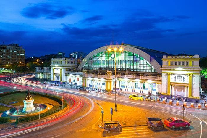 Da Bangkok a Khon Kaen in Treno