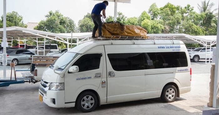 Viaggiare da Bangkok a Koh Kood in Pulmino e Traghetto