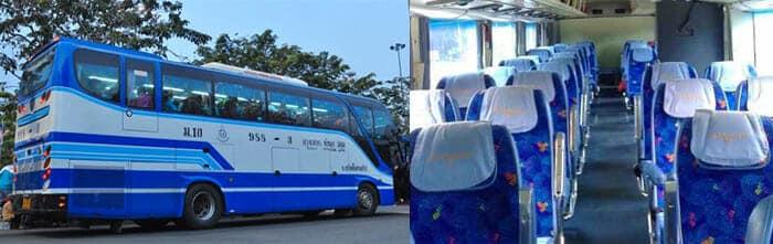 Da Bangkok a Phitsanulok in Autobus