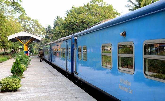 Da Colombo a Jaffna in Treno