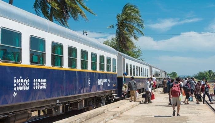 Da Phnom Penh a Kampot in Treno