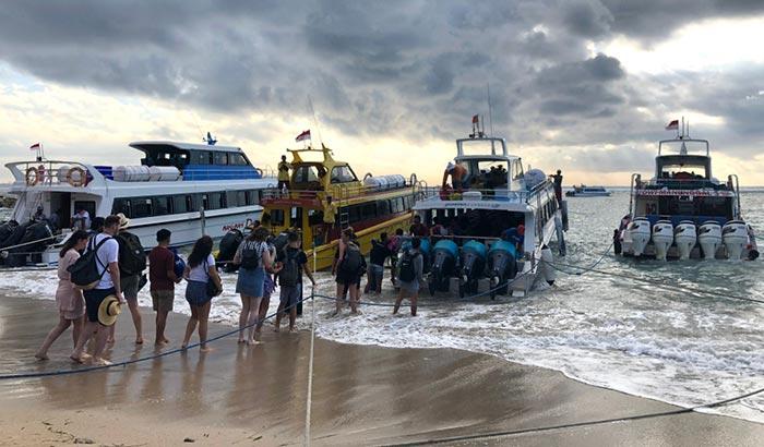 Da Sanur a Nusa Penida in Barca