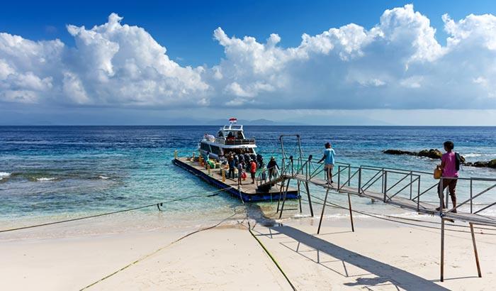 Opzioni di viaggio per andare da Sanur a Nusa Penida