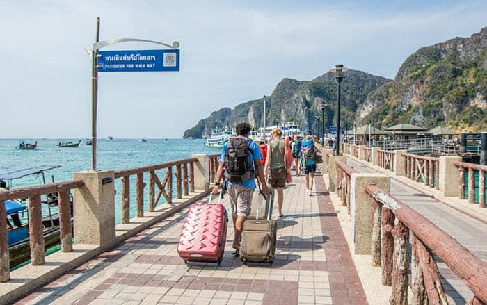 Opzioni di viaggio per andare da Koh Tao a Koh Phi Phi