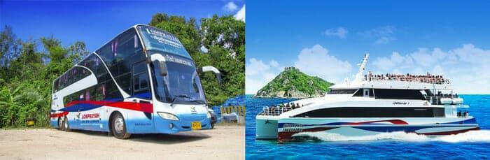 Da Koh Tao a Koh Phi Phi in Traghetto e Bus