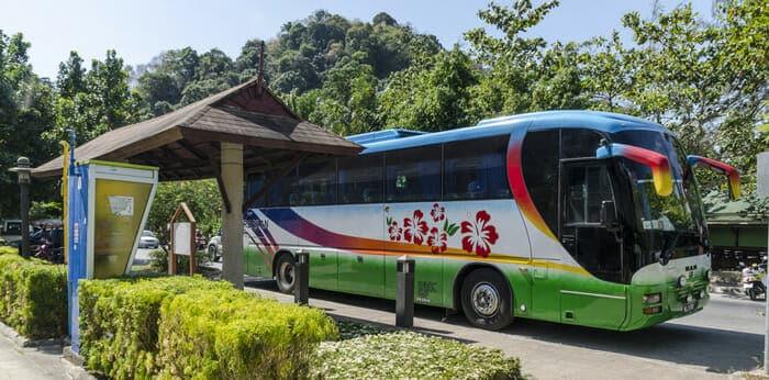 Da Krabi a Khao Sok in Autobus